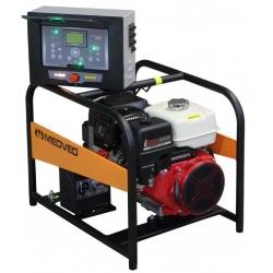 9000 HE AVR-ATS Arctos Medved záložný jednofázový generátor  s motorom Honda