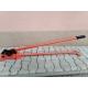 Ohýbačka strmeňov - strihačka betonárskej ocele 2 v 1